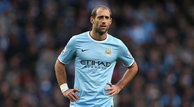 Pablo Zabaleta believes Manchester City should have a greater points total than they currently have