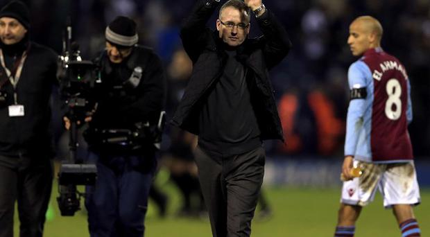 Paul Lambert's triple substitution spurred Villa on to earn a draw against West Brom