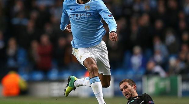 Joleon Lescott was a peripheral figure at Manchester City last season