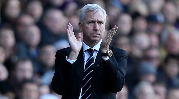 Alan Pardew's Newcastle are enjoying a fine run of league form