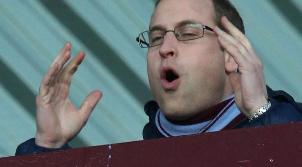 The Duke of Cambridge did not see any goals during a forgettable clash at Villa Park
