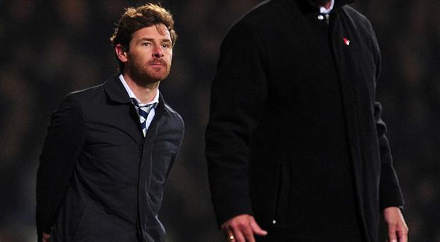 Sam Allardyce, right, believes Andre Villas-Boas, left, has displayed immaturity for reacting to the press