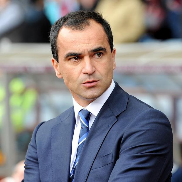 Roberto Martinez takes Everton to Old Trafford on Wednesday