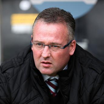 Paul Lambert has been pleased with Aston Villa's season so far