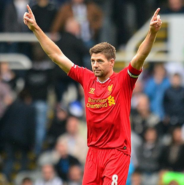 Steven Gerrard scored against Hull on Sunday