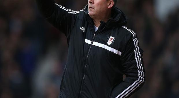 Rene Meulensteen takes charge of Fulham for the first time against Spurs on Wednesday night