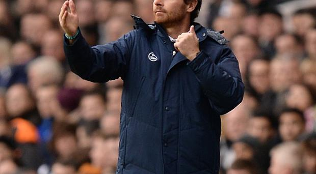 Andre Villas-Boas is looking on climbing the table