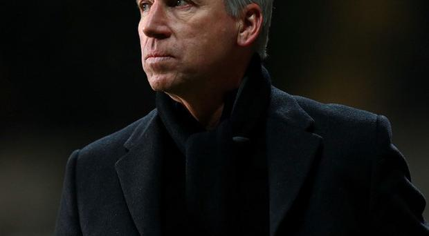 Alan Pardew was not impressed with Howard Webb