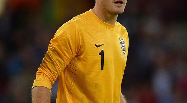 Jack Butland is determined to be England's number one in the coming years
