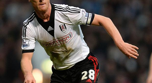 Scott Parker was man of the match for Fulham on Sunday