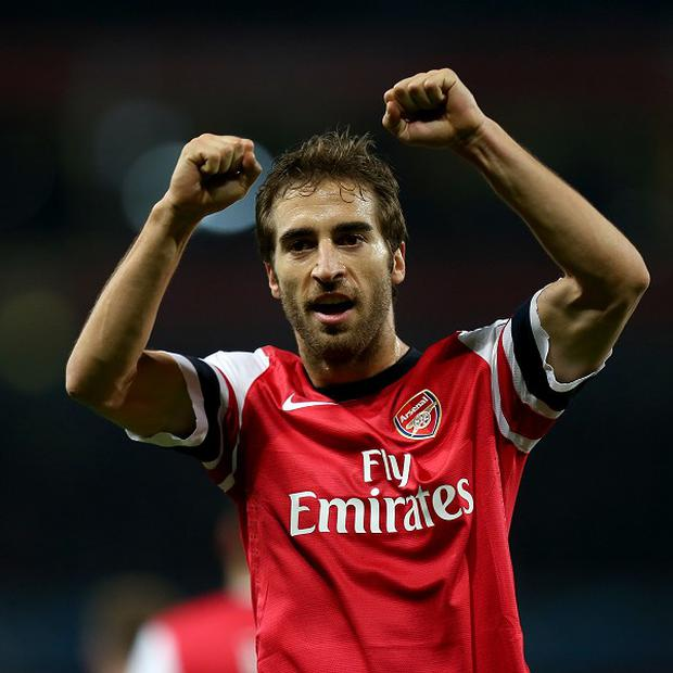 Mathieu Flamini wants Arsenal to continue their progress