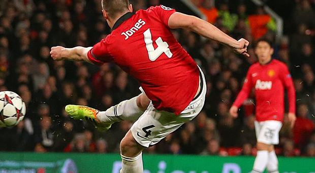 Phil Jones struck the winner against Shakhtar Donetsk in midweek