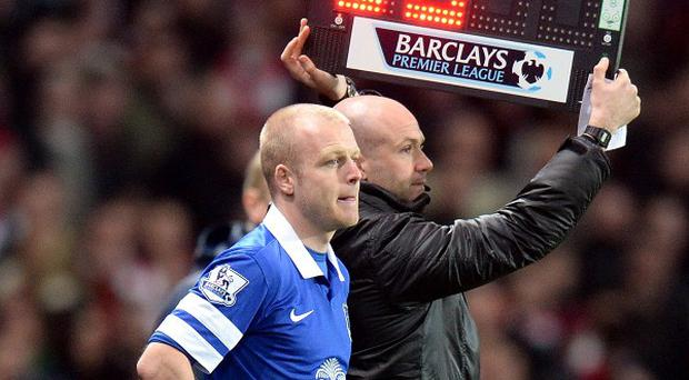 Steven Naismith has struggled for first-team opportunities so far this season