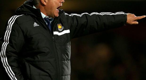 Sam Allardyce was left disappointed as West Ham were held by Sunderland