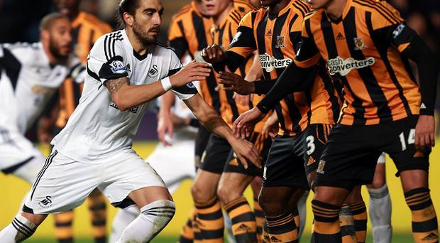 Swansea and Hull shared the points at the Liberty Stadium fixture