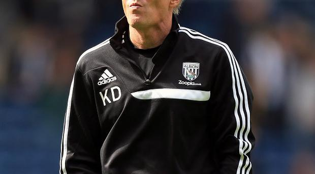 Keith Downing will take charge of West Brom this weekend following Steve Clarke's exit
