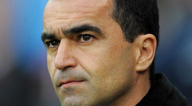 Roberto Martinez is happy with life at Everton