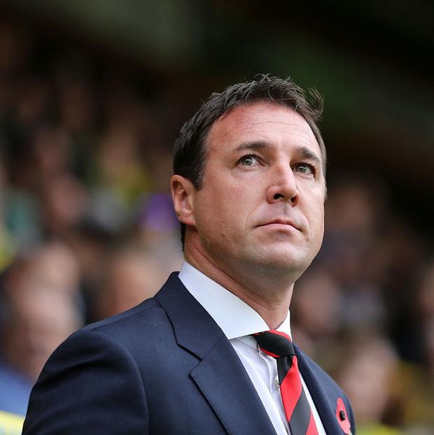 Malky Mackay did not speak with the press on Friday morning