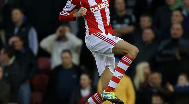 Peter Crouch scored and set up a goal for Stoke