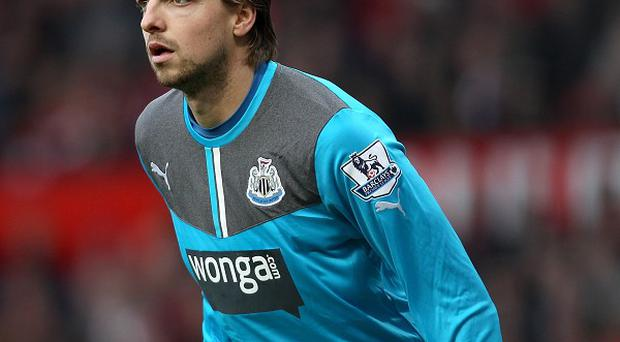 Tim Krul and his Newcastle defence kept a clean sheet against Crystal Palace on Saturday