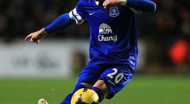 Ross Barkley, pictured, was praised by Roberto Martinez after the game