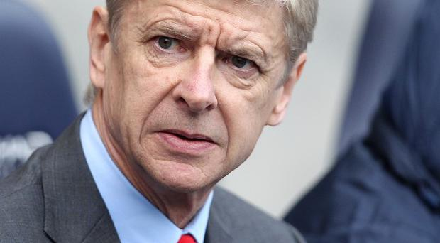 Arsene Wenger's Arsenal side are currently third in the table