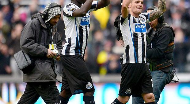 Alan Pardew has hailed the impact of the likes of Moussa Sissoko, left, and Mathieu Debuchy, right