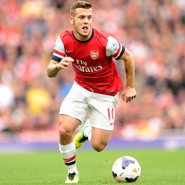 Jack Wilshere was handed a two-game ban for the gesture
