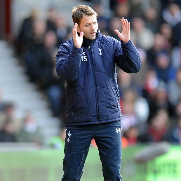 Tim Sherwood was handed the Tottenham job on a full-time basis on Monday