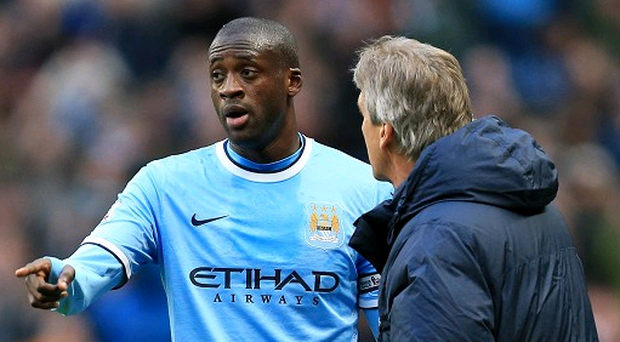 Yaya Toure described Manchester City's clash with Liverpool as a 'big, big game'