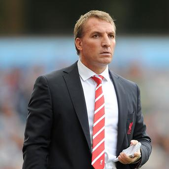 Brendan Rodgers' Liverpool were top of the table at Christmas