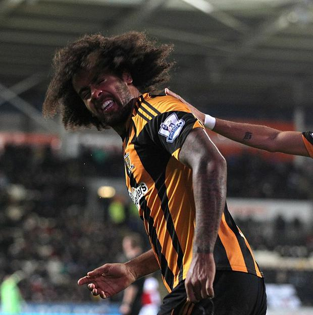 Tom Huddlestone scored Hull's fourth goal against Fulham