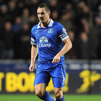 Phil Jagielka picked up a hamstring injury during the closing stages of Everton's defeat to Sunderland on Boxing Day