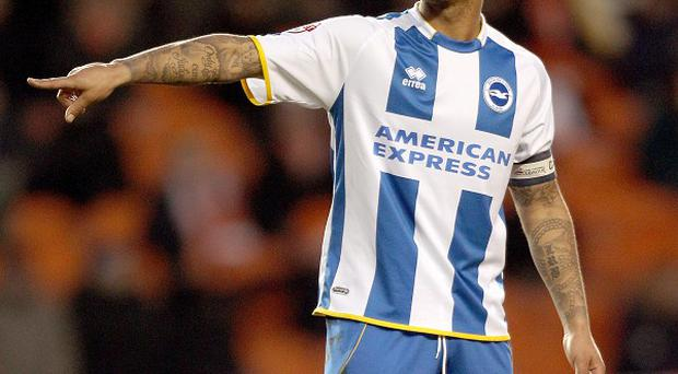 Liam Bridcutt has made 11 appearances to date for Brighton this season