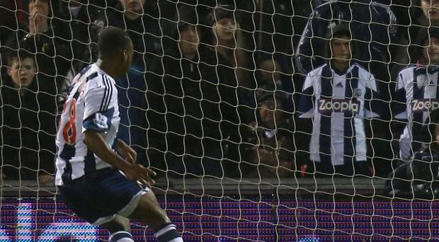 West Brom's Saido Berahino scored the winner from the penalty spot