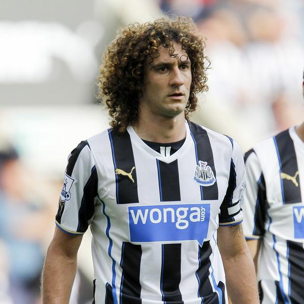 Fabricio Coloccini is likely to be out for four to six weeks