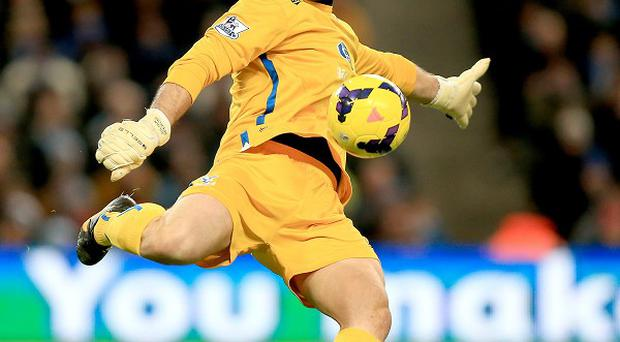 Julian Speroni is confident Crystal Palace can secure survival
