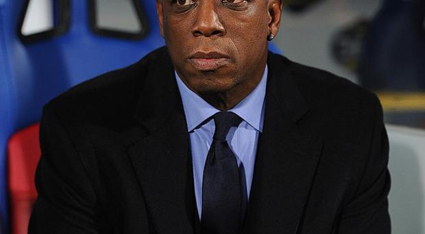 Ian Wright, pictured, has sympathy for Theo Walcott