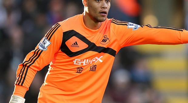Michel Vorm will not rush back to action despite an encouraging recovery to his knee operation