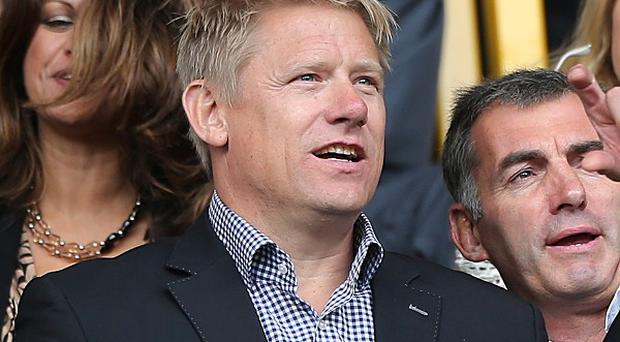 Peter Schmeichel, pictured, believes Manchester United will come good under David Moyes