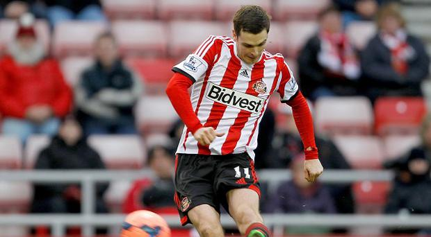 Adam Johnson came off the bench to inspire Sunderland against Manchester United