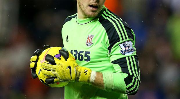 Injuries have given Jack Butland a first-team opportunity at Stoke