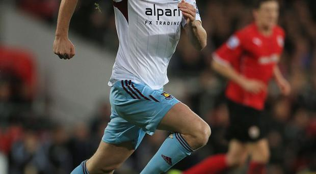 Andy Carroll returned from injury against Cardiff on Saturday