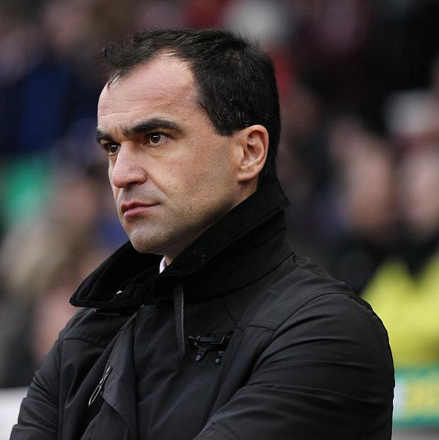 Roberto Martinez is looking for a striker to replace Nikica Jelavic