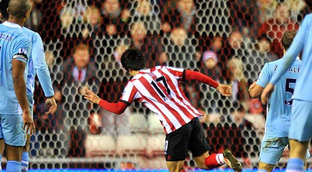 Ji Dong-won's best moment as a Sunderland player was scoring the winner against Manchester City in January 2012