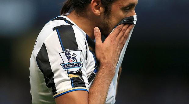 Jonas Gutierrez does not know why he was frozen out at Newcastle