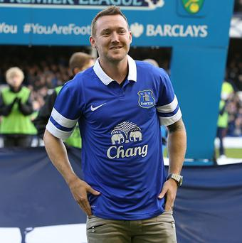 Aiden McGeady is in Everton's squad to face West Brom on Monday