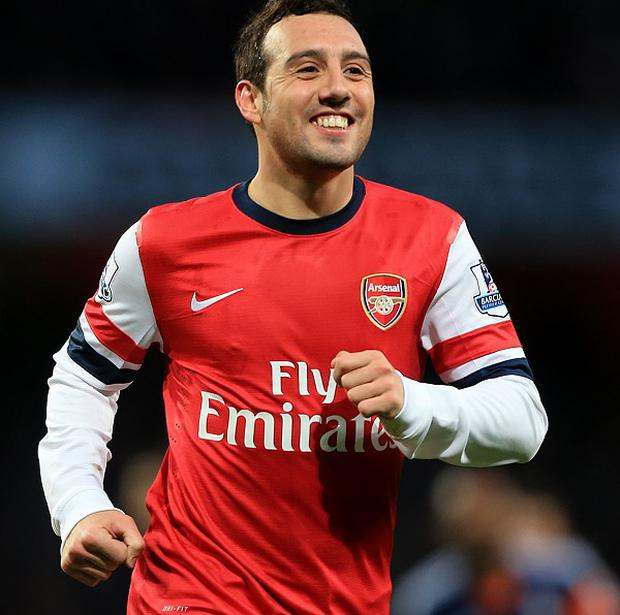 Santi Cazorla scored a brace in Arsenal's win over Fulham