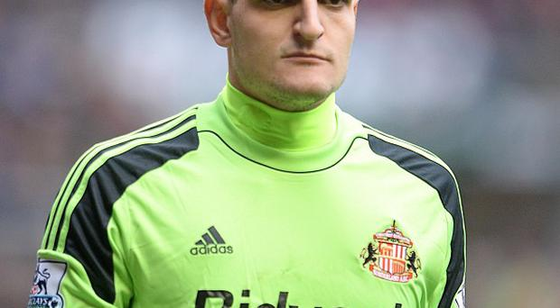 Vito Mannone joined Sunderland in the summer from Arsenal