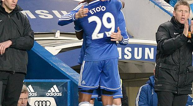 Fernando Torres, centre right, sustained the injury after coming off the bench